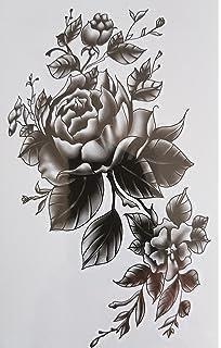 Tatouage Temporaire Femme Dessin De Rose Tatouage Ephemere Rose En