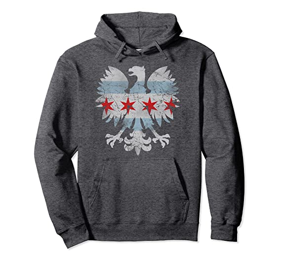 cd7fd33d Chicago Polish Eagle Flag Hoodie