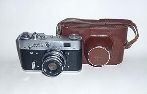FED-3 USSR Soviet Union Russian RF 35mm Leica Copy Film Camera
