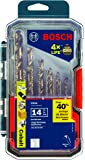 Bosch 14 Piece Cobalt Metal Drill Bit Set CO14