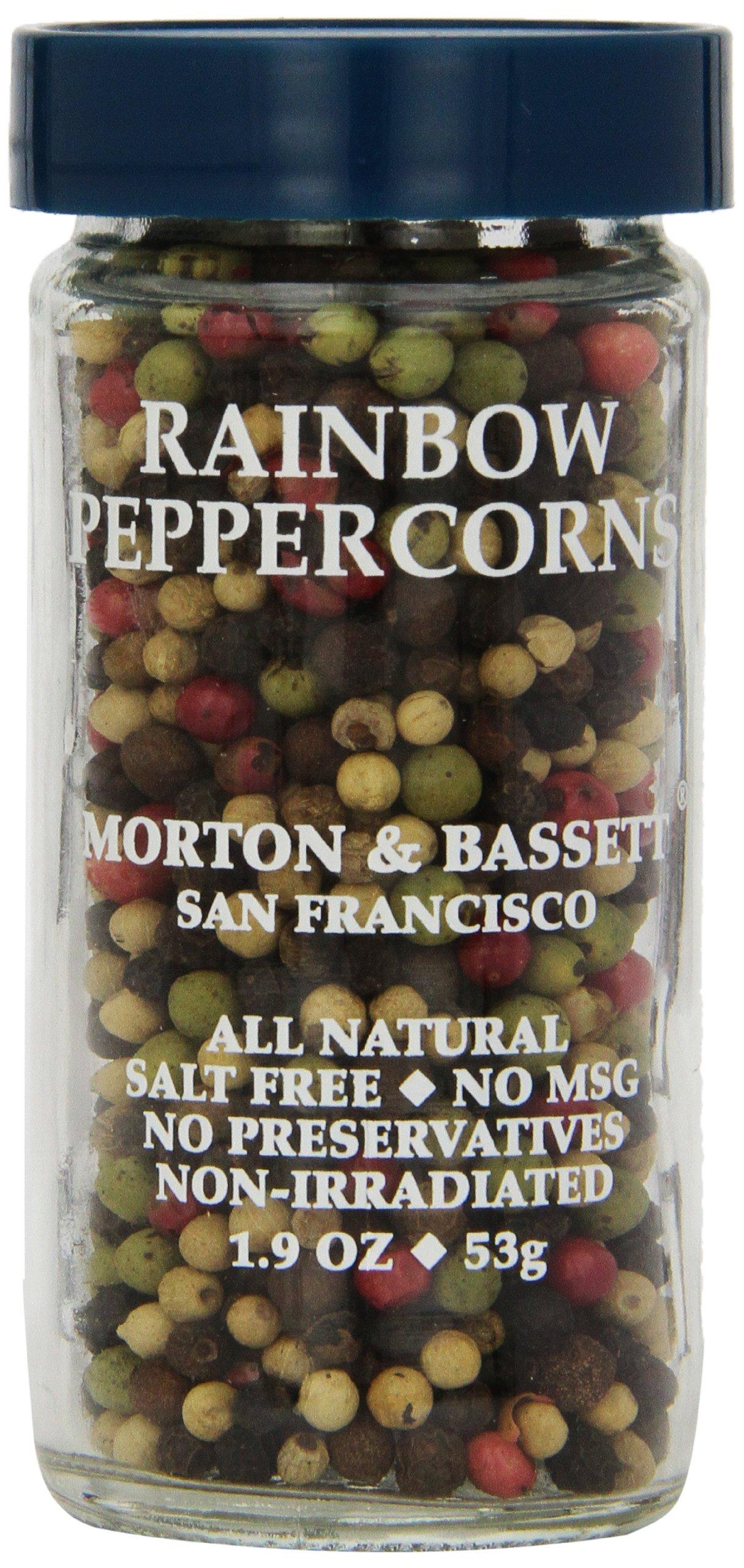 Morton & Bassett Peppercorns, Rainbow (Whole), 1.9 Ounce