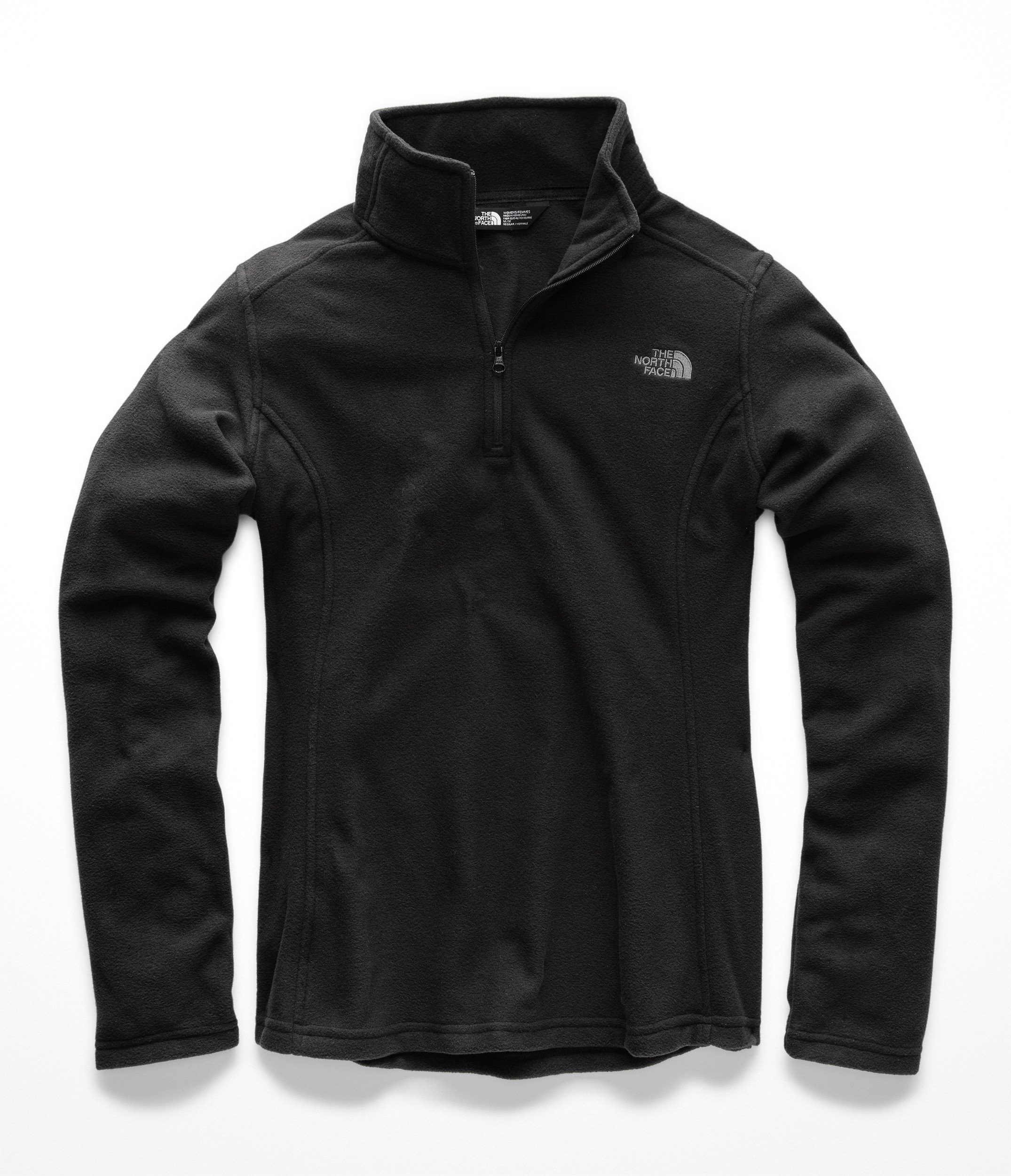 The North Face Women Glacier 1 & 4 Zip - TNF Black - XXL