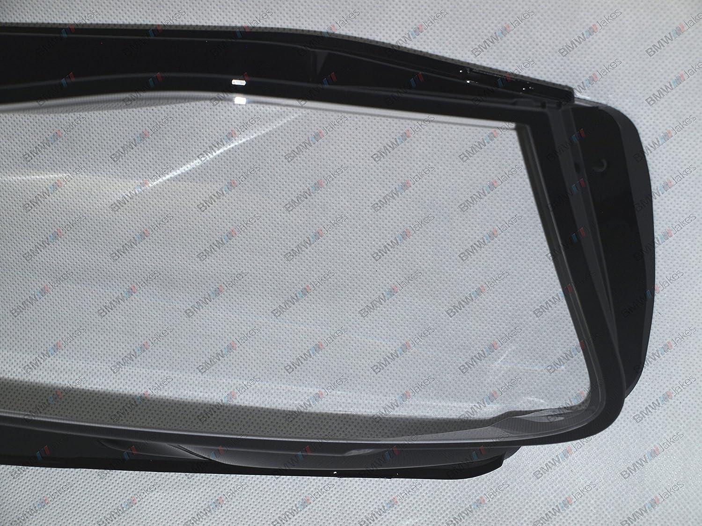 AUDI A4 B8 LCI 2012-2016 Bjakes New Original Headlight Headlamp Lens Cover PAIR