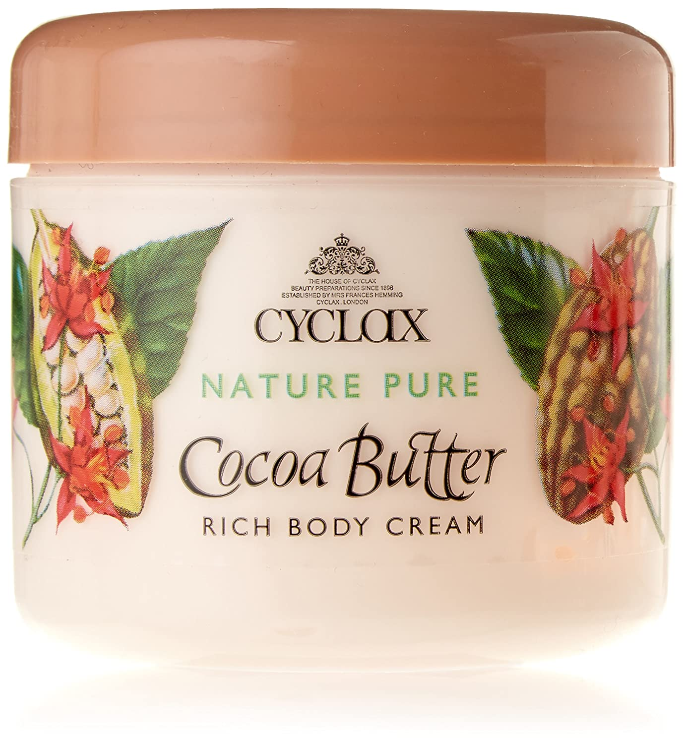 Cyclax Natura puro burro di cacao Crema Corpo 300ml Rich Richards & Appleby 000786