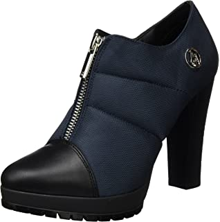 Armani Scarpe Donna PARIGINA Jeans Tacco 90 PL 25 Pelle Nera D15AJ12 ... baa34c74694