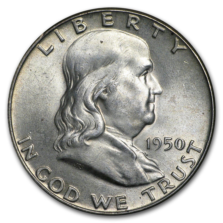 1957-P Franklin Half Dollar Brilliant Uncirculated BU