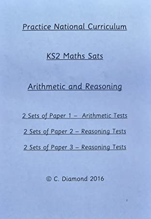 Practice KS2 Maths Sats Papers - Arithmetic and Reasoning Tests - Pdf file  to print out