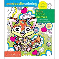 Image for Zendoodle Coloring: Baby Forest Animals: Cuddly Creatures to Color and Display