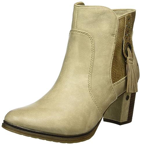 Mustang 1199-511, Botines Para Mujer, Blanco (243 Ivory), 39 EU: Amazon.es: Zapatos y complementos