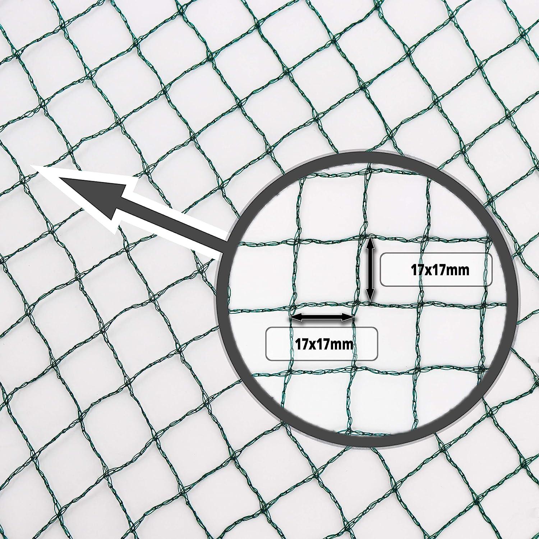 Cabilock 20 Pcs /Étang de Protection Net Poissons Gardes Filet /Étang Filet Maillage /Étang Flottant Net /Étang Filet Maille Protecteur