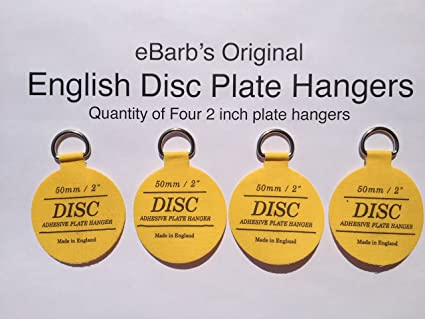 eBarbu0027s u0026quot;The Originalu0026quot; English Plate Hanger Disc--a quantity ...  sc 1 st  Amazon.com & eBarbu0027s