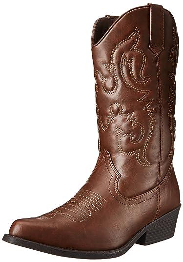 Amazon.com | Madden Girl Women's Sanguine Wide Width Western Boot ...