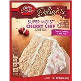 Betty Crocker Super Moist Cake Mix Cherry Chip 15.25 Oz Box (pack of 6)