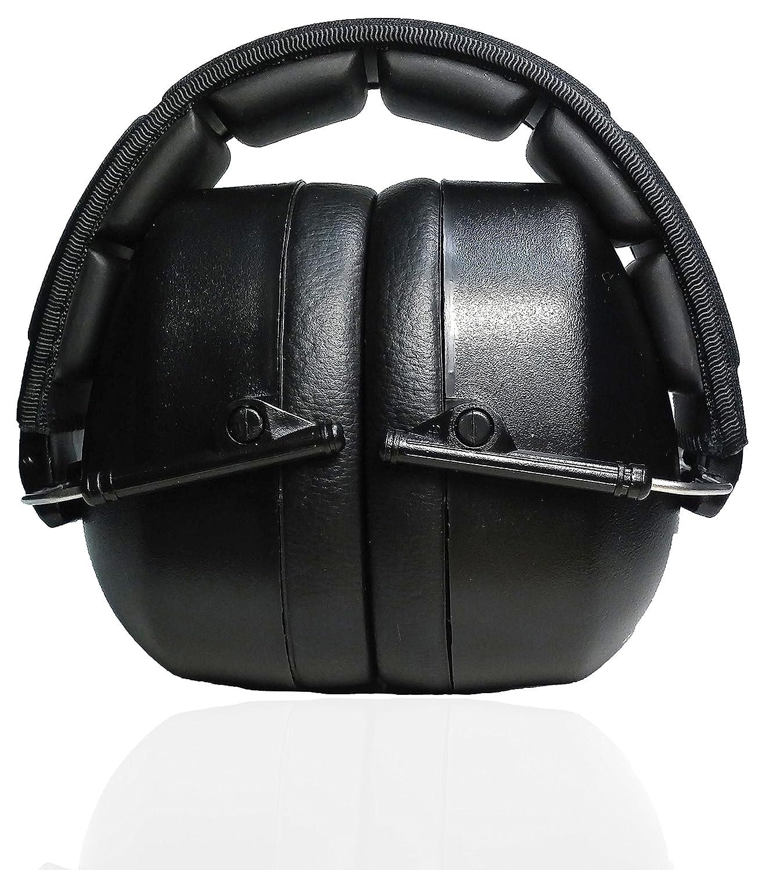 Orejeras de seguridad profesionales de Decibel Defense, la protección de oídos mejor valorada y más cómoda, uso industrial y de arma de fuego, la ...