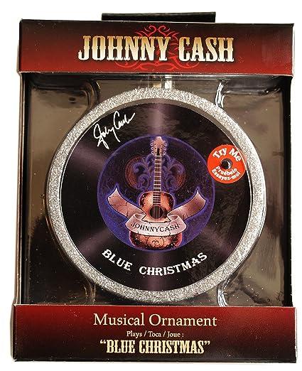 "Johnny Cash Musical Ornament - Plays ""Blue Christmas"" - Amazon.com: Johnny Cash Musical Ornament - Plays"