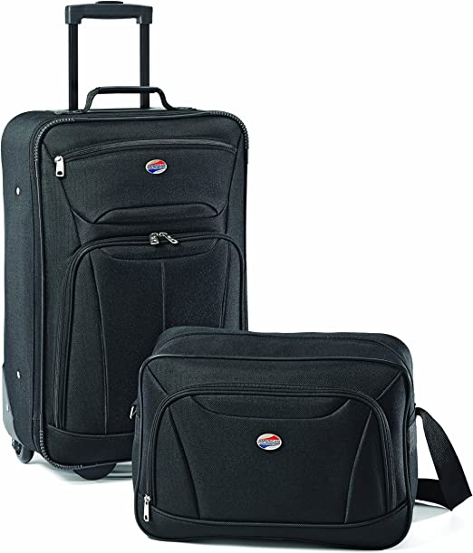 American Tourister Fieldbrook II Softside Luggage Set}