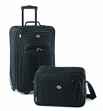 9ff6cb34b Amazon.com | American Tourister Luggage Fieldbrook Ii 2 Pc Set, Black | Luggage  Sets