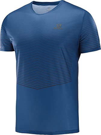 SALOMON Camiseta MC Sense Azul: Amazon.es: Deportes y aire libre