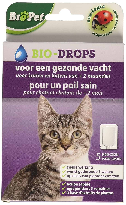 BSI Biopet Bio-Drops - Antipulgas sin insecticida para Gatos ...