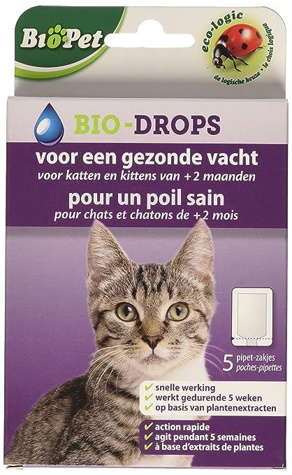 BSI Biopet Bio-Drops - Antipulgas sin insecticida para gatos