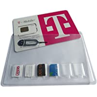 SIMCases SIM Card Holder Storage Case For 6 NANO SIM CARDS - Including Iphone Tray Eject Needle Pin Tool, Works For All…