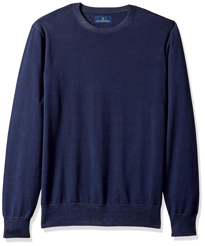 493fd3bdc84e Amazon.com  Amazon Brand - BUTTONED DOWN Men s Supima Cotton Lightweight Crewneck  Sweater  Clothing