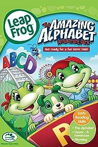Leap frog: the amazing alphabet amusement park dvd label dvd.