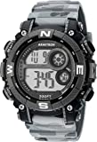 Armitron Sport Men's 40/8284CMGY Digital Chronograph Matte Black and Grey Camouflage Resin Strap Watch