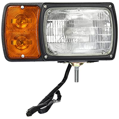 Grote 63451-4 Black Snowplow Lamp Kit (with Universal Wiring Harness): Automotive [5Bkhe0416192]