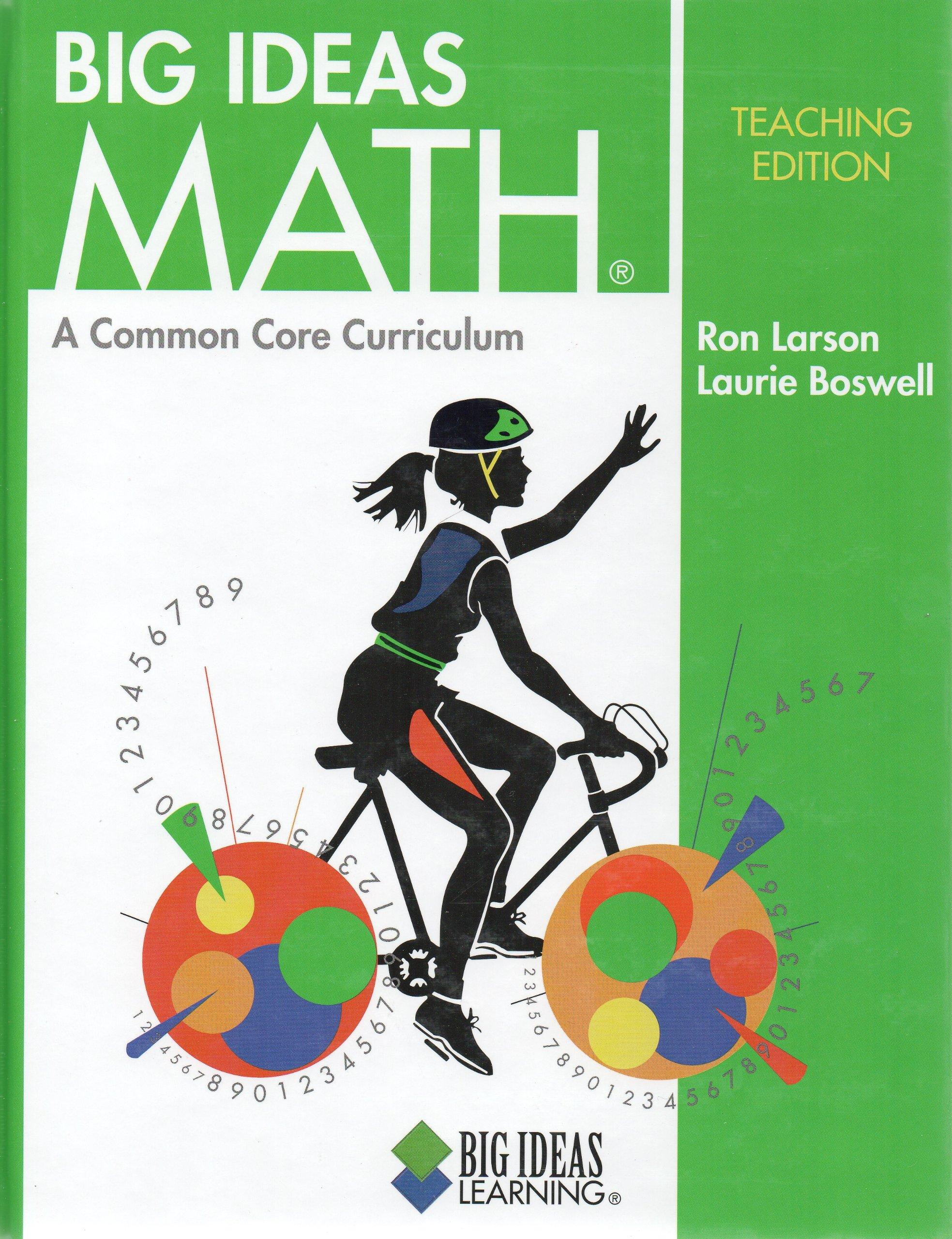 Amazon com: Big Ideas Math: A Common Core Curriculum
