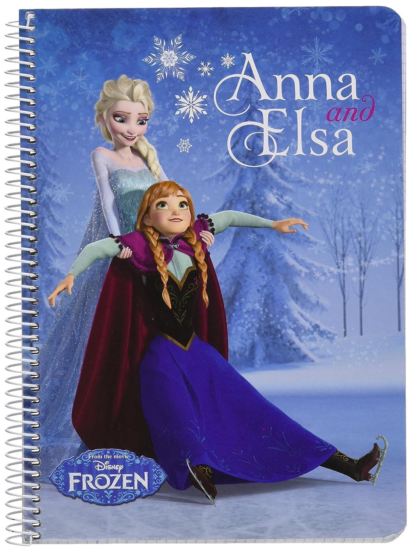 Disney Frozen-Quaderno quarto copertine rigide 80 h, colore: blu (Safta 511615065)