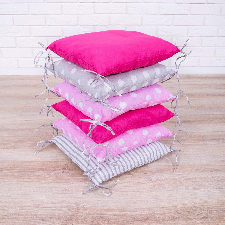 Tour de lit de b/éb/é Design2 de Amilian/® Prot/ège la t/ête et les bords/ 210/cm