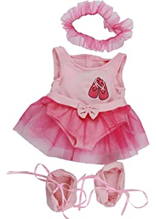 902466f6c57 Pink Ballet Cuddles Outfit   Teddy Clothes fits 15-16 inch (40cm) Teddies