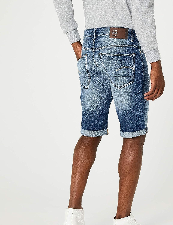 G-STAR RAW 3301 1//2 Pantalones Cortos para Hombre