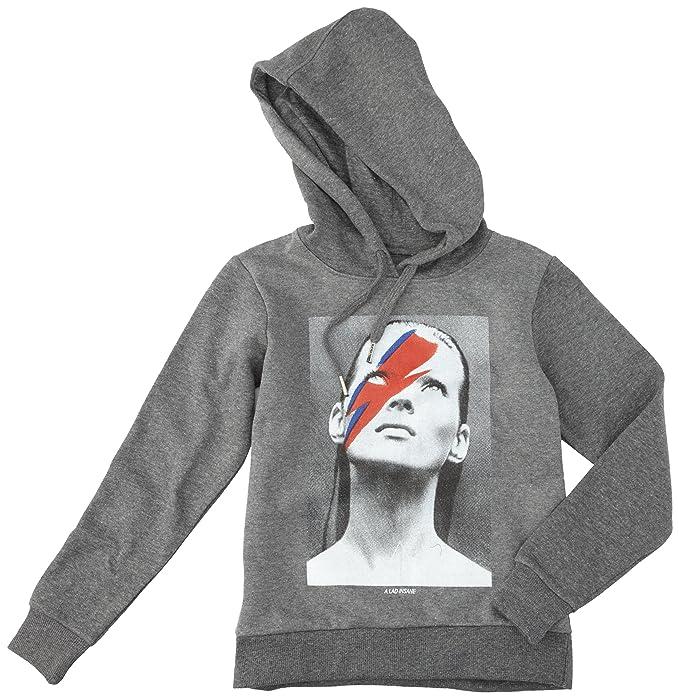 Eleven Paris - Sudadera con capucha para niño, color dark grey chiné, talla talla