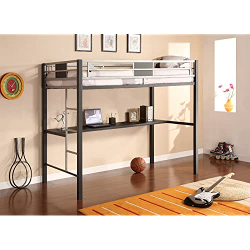 Bunk Bed With Desk Amazon Com