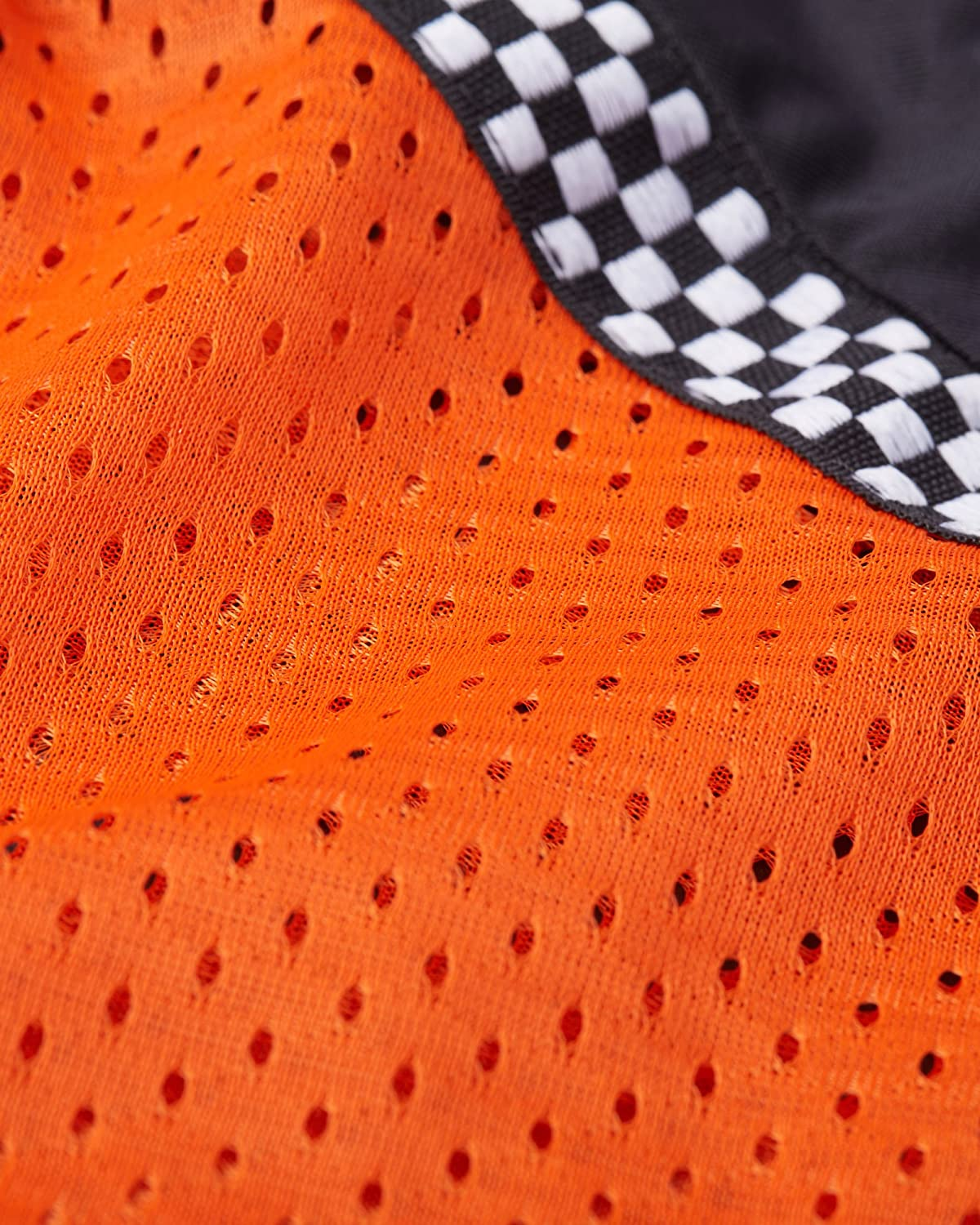 Bohn All-Season Airtex Armored Riding Shirt Orange//Black X-Small