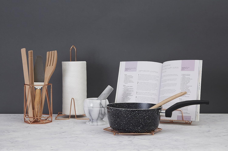 Copper Metallo Premier Housewares Vertex Articoli per la casa in Rame Placcato 32 x 32 x 15 cm
