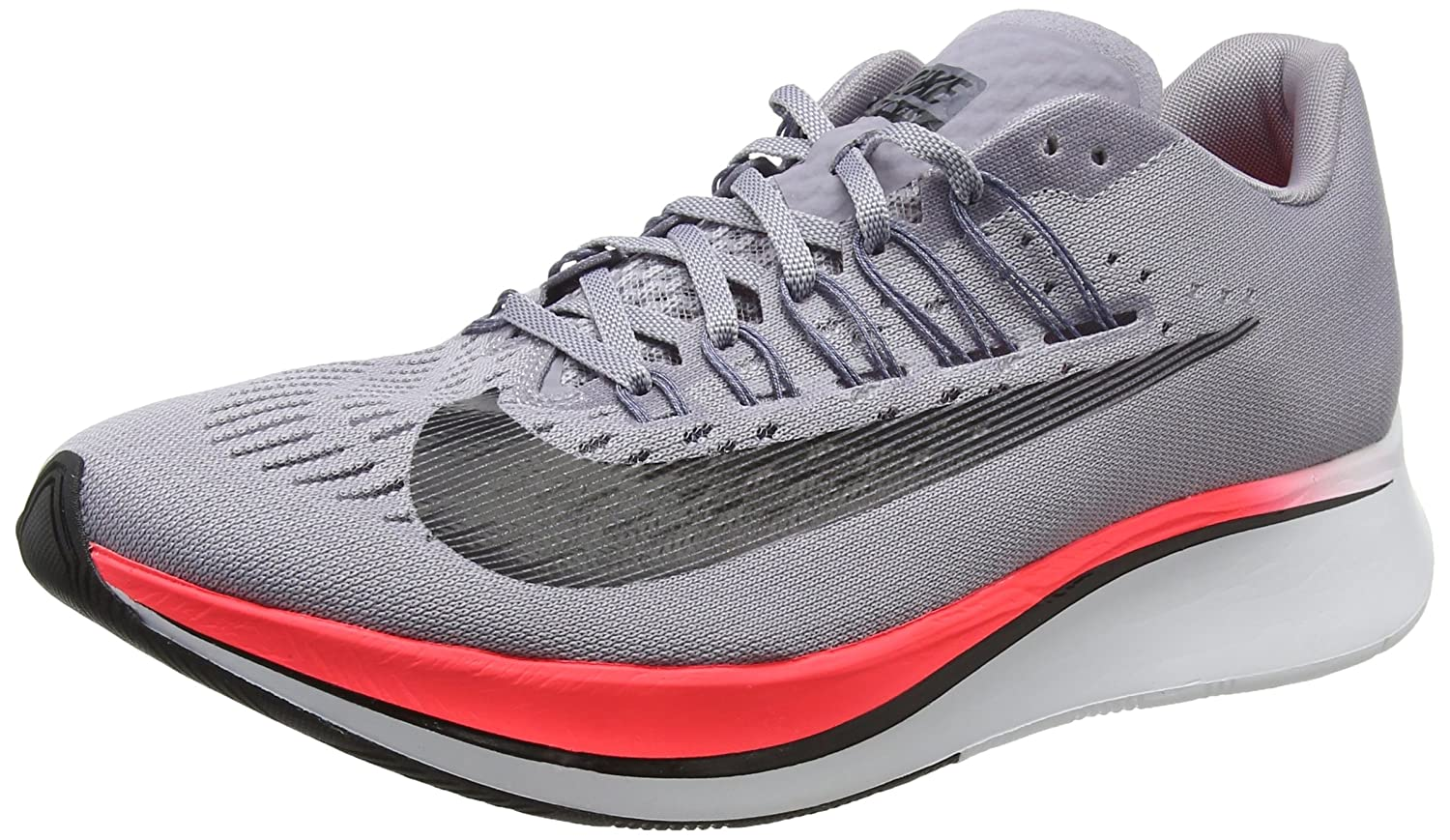 Grey (Provence Purple Light Carbon Solar Red Black 516) 0 M US Nike Women's WMNS Zoom Fly Trainers