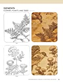 Woodburning Project & Pattern Treasury: Create Your Own Pyrography Art with 75 Mix-and-Match Designs (Fox Chapel Publishing) Step-by-Step Instructions for Both Beginners and Advanced Woodburners