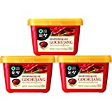 Chung Jung One Sunchang Hot Pepper Paste Gold, 3 Pack (500g)