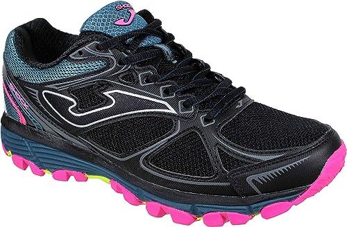Joma Shock Lady 901 Negro- Zapatillas Trail Running Mujer (41 EU, Negro): Amazon.es: Zapatos y complementos