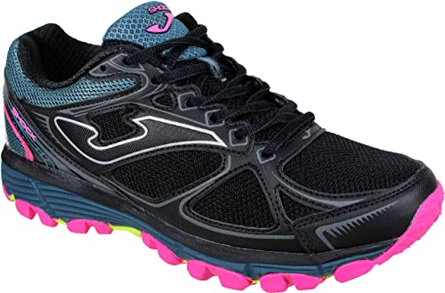 Joma Shock Lady 901 Negro- Zapatillas Trail Running Mujer: Amazon.es: Zapatos y complementos
