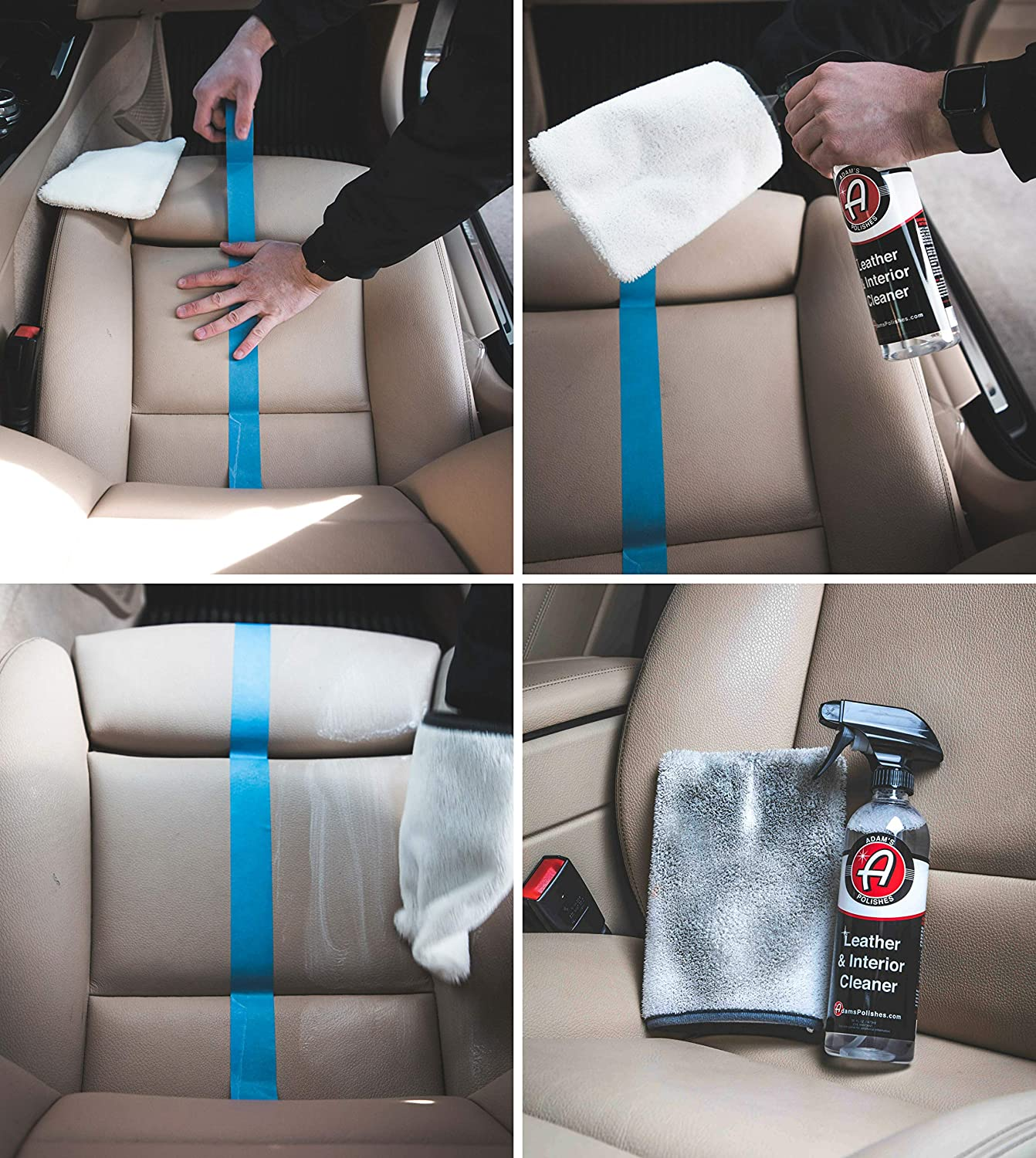 Safe for Interior Surfaces Adams Interior Scrubbing Mitt Agitate Surfaces to Quickly Remove Stubborn Dirt or Stains