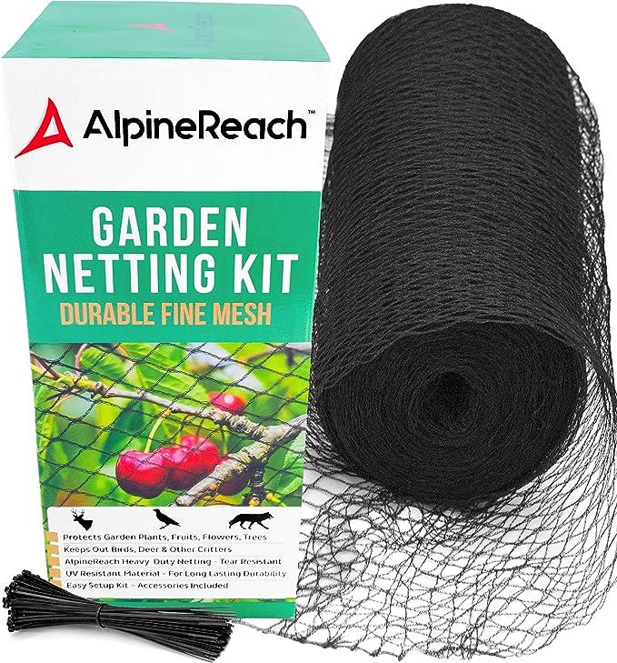 Trellis Netting and Light Weight Fencing 2 feet x 50 feet Easy Gardener Multi-Use Netting For Garden Protection