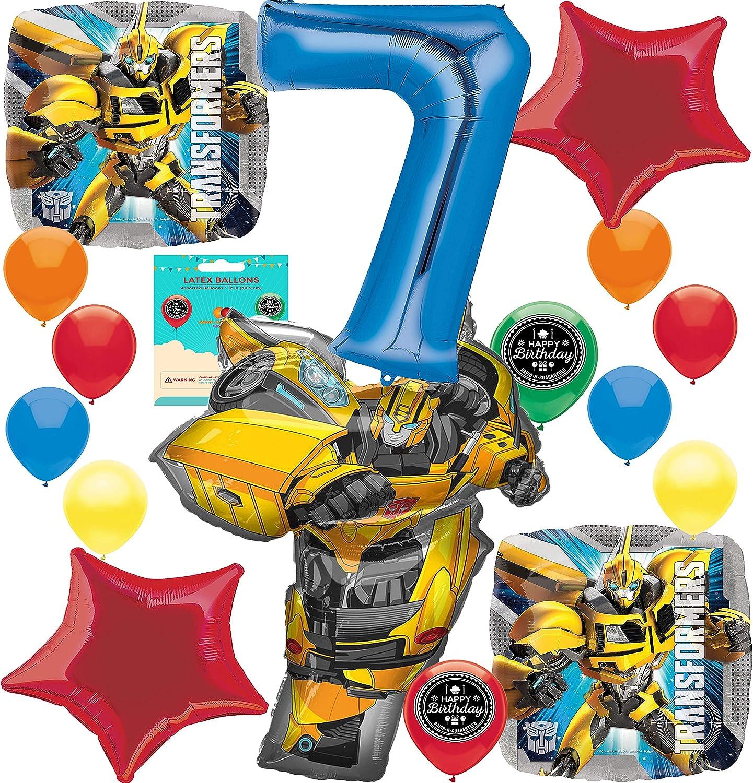 Bumble Bee パーティー用品(自分だけの年齢を選んでください)誕生日バルーンデコレーションバンドル ses