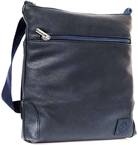 51a898a288 Trussardi Borsa Borsello Tracolla Uomo Blu Collection Bag Men Blue:  Amazon.it: Scarpe e borse