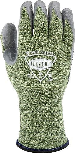 Medium 1 Pair West Chester IRONCAT 6100 Metal Tamer TIG Welding Gloves