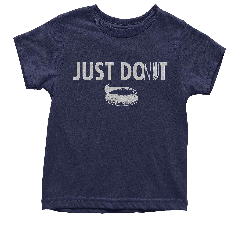 FerociTees Just Donut Funny Parody Do It Later Youth T-Shirt