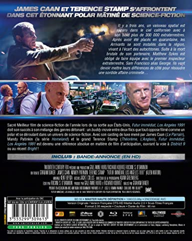 Futur immédiat - Los Angeles 1991 [Blu-ray]: Amazon co uk